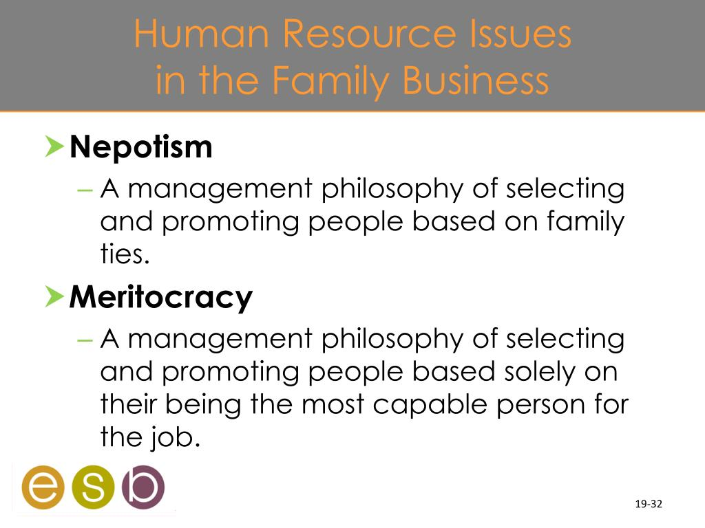 Human Resource Issues