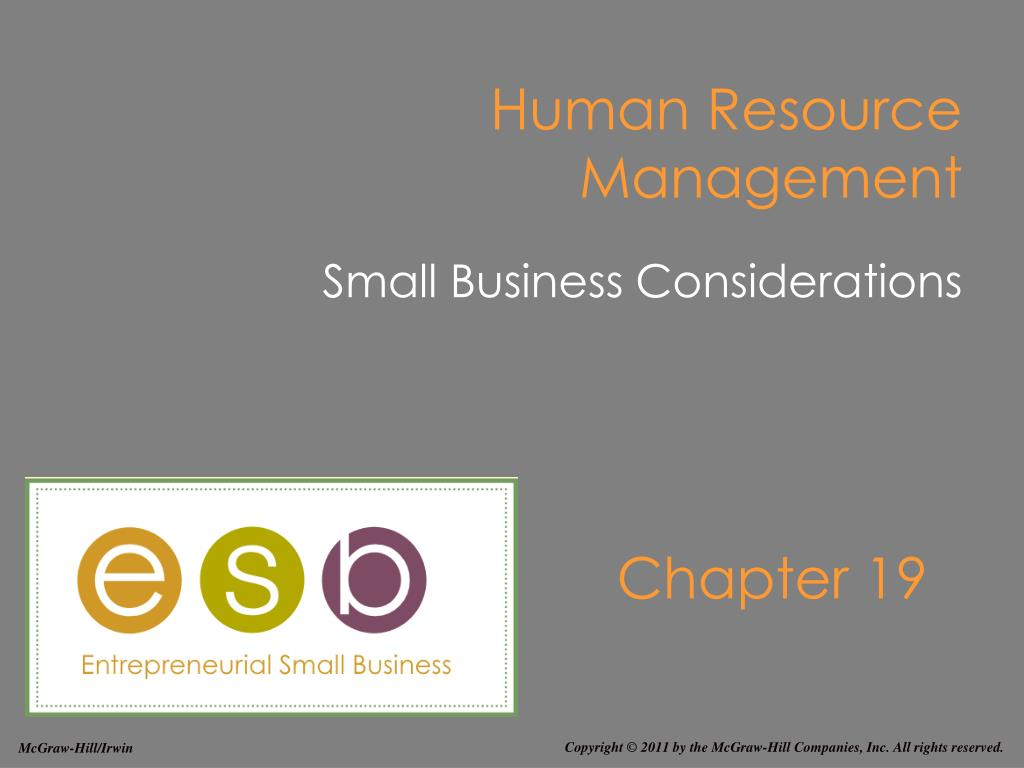 human resource management l.