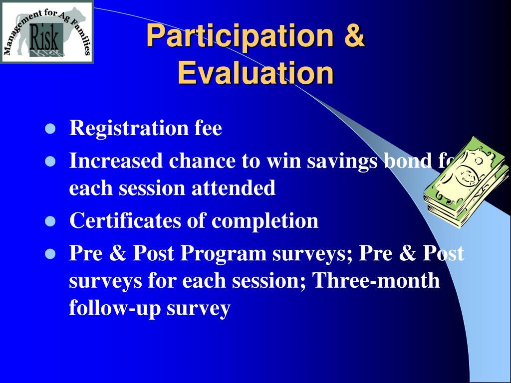 Participation &