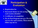 participation evaluation