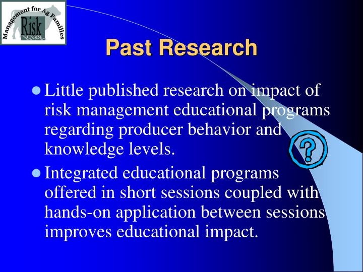 Past research