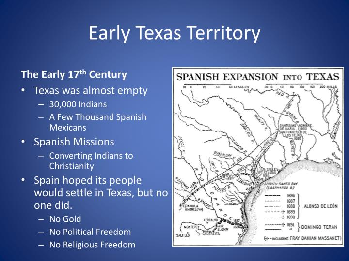 Early texas territory