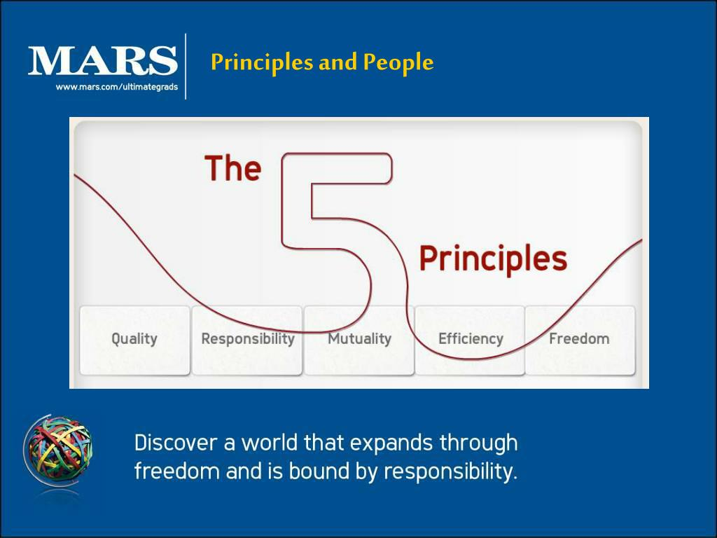 Principles and People