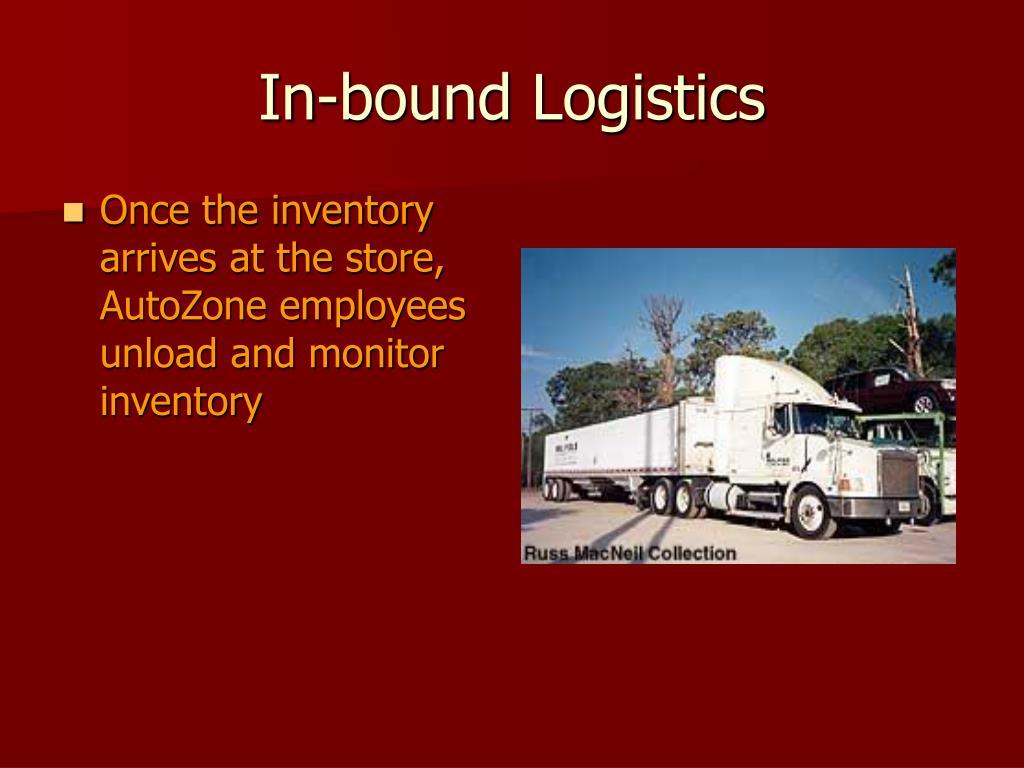 In-bound Logistics