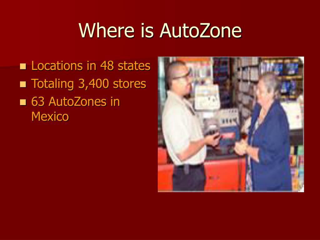 Where is AutoZone
