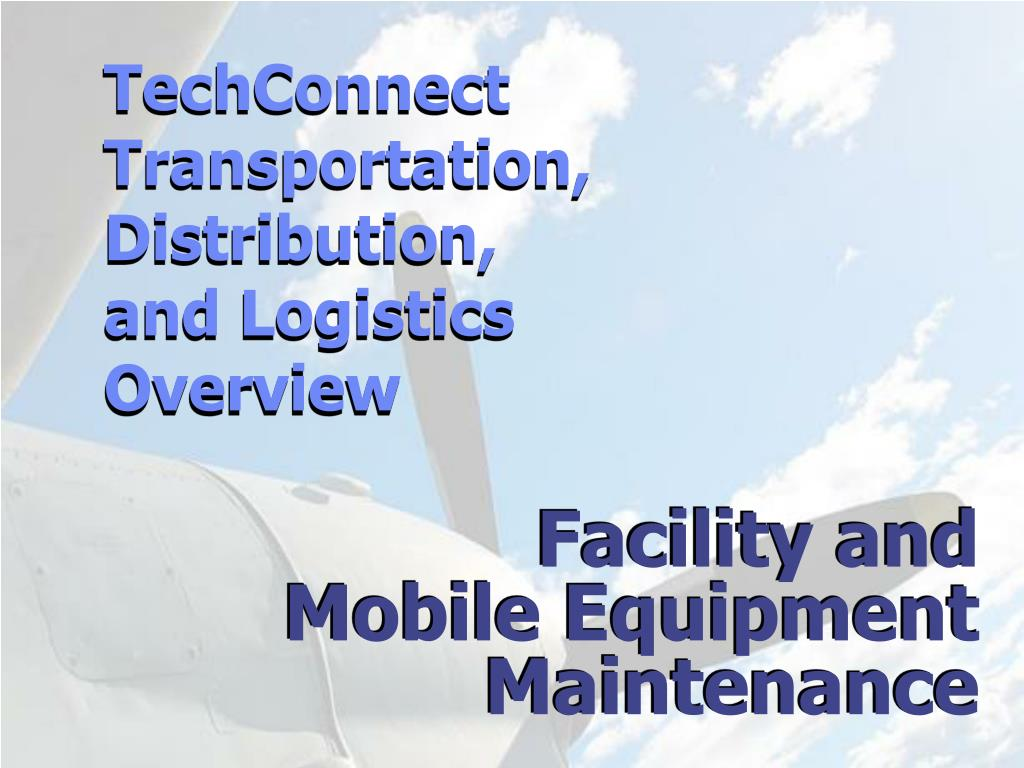 facility and mobile equipment maintenance l.