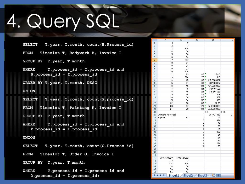 4. Query SQL