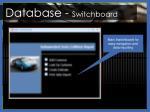database switchboard
