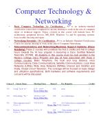 computer technology networking