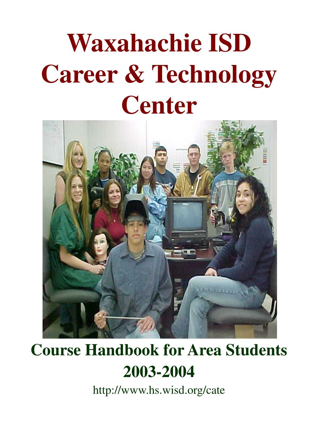 waxahachie isd career technology center l.