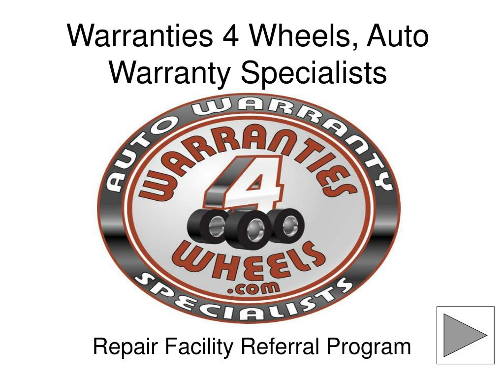 warranties 4 wheels auto warranty specialists l.