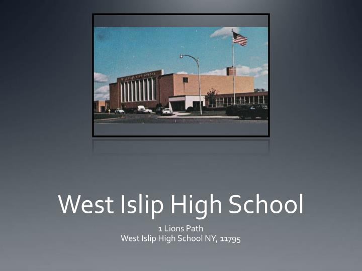West islip high school