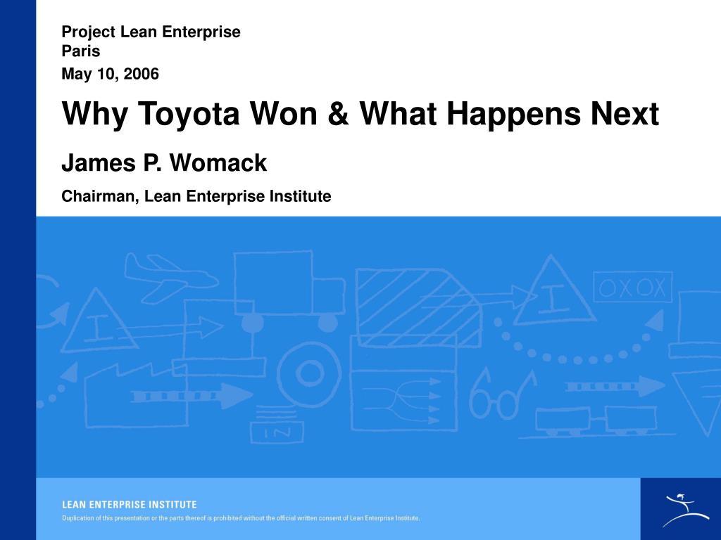 Project Lean Enterprise