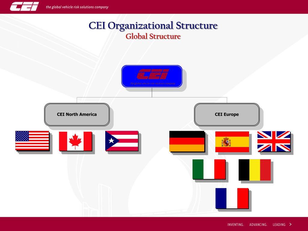 CEI Organizational Structure