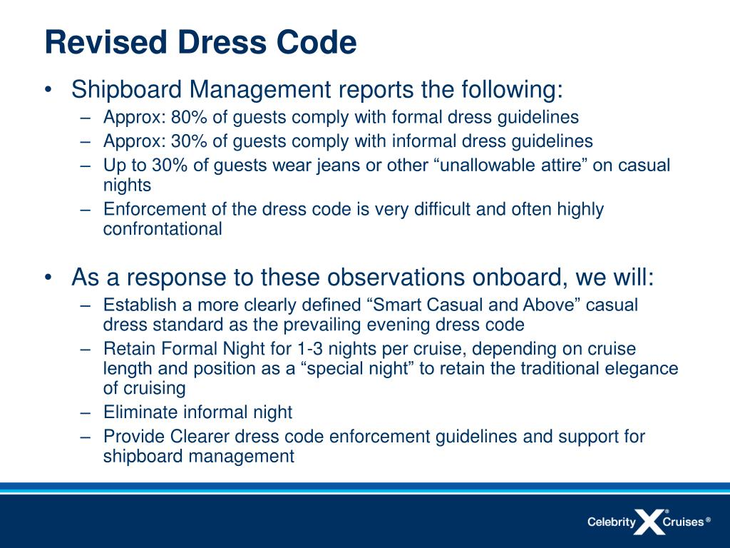 Revised Dress Code