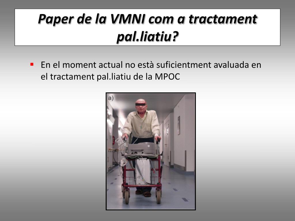 Paper de la VMNI com a tractament pal.liatiu?