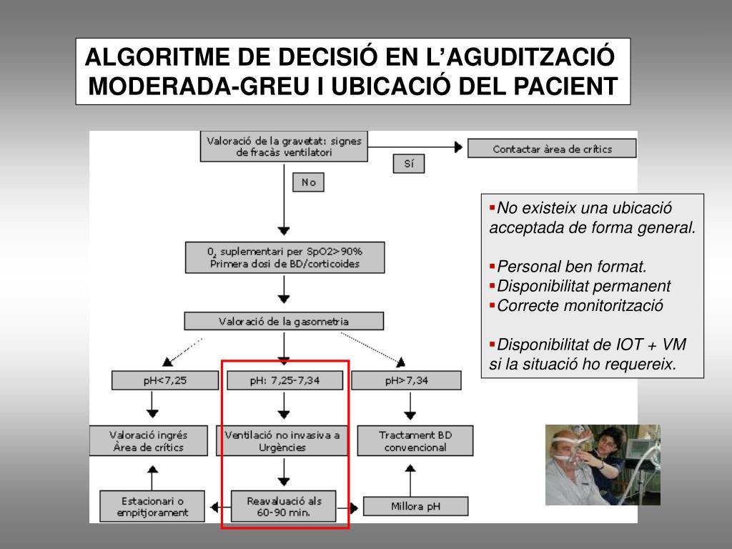 ALGORITME DE DECISIÓ EN L'AGUDITZACIÓ
