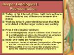 deeper ontologies i representation51