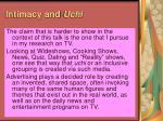 intimacy and uchi