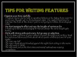tips for writing features12