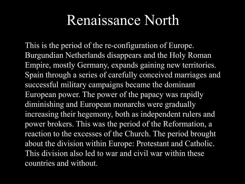 Renaissance North