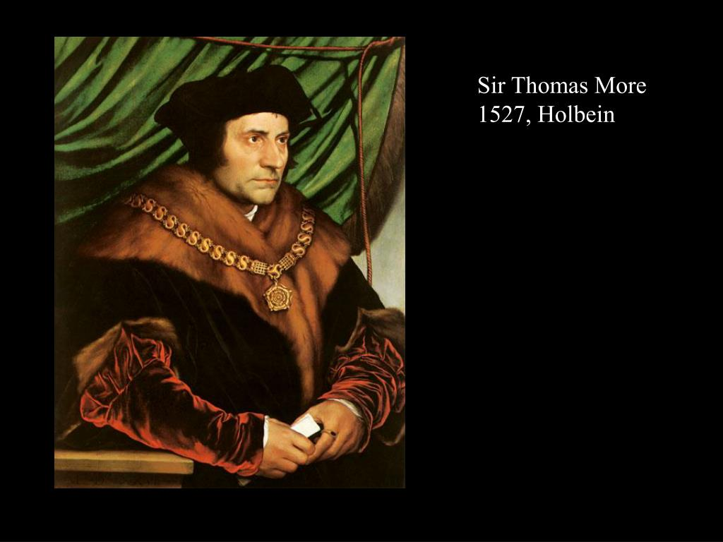 Sir Thomas More 1527, Holbein
