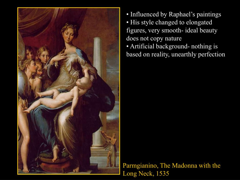 • Influenced by Raphael's paintings