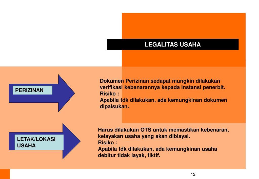 LEGALITAS USAHA