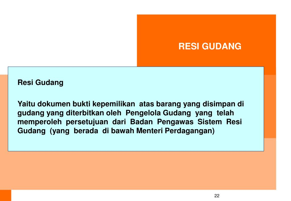 RESI GUDANG