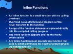inline functions33