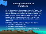 passing addresses to functions18