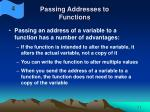 passing addresses to functions20