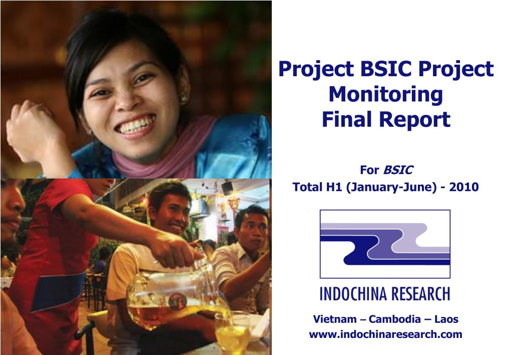 Project BSIC Project Monitoring