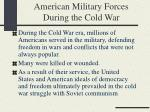 american military forces during the cold war36