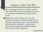 origins of the cold war16