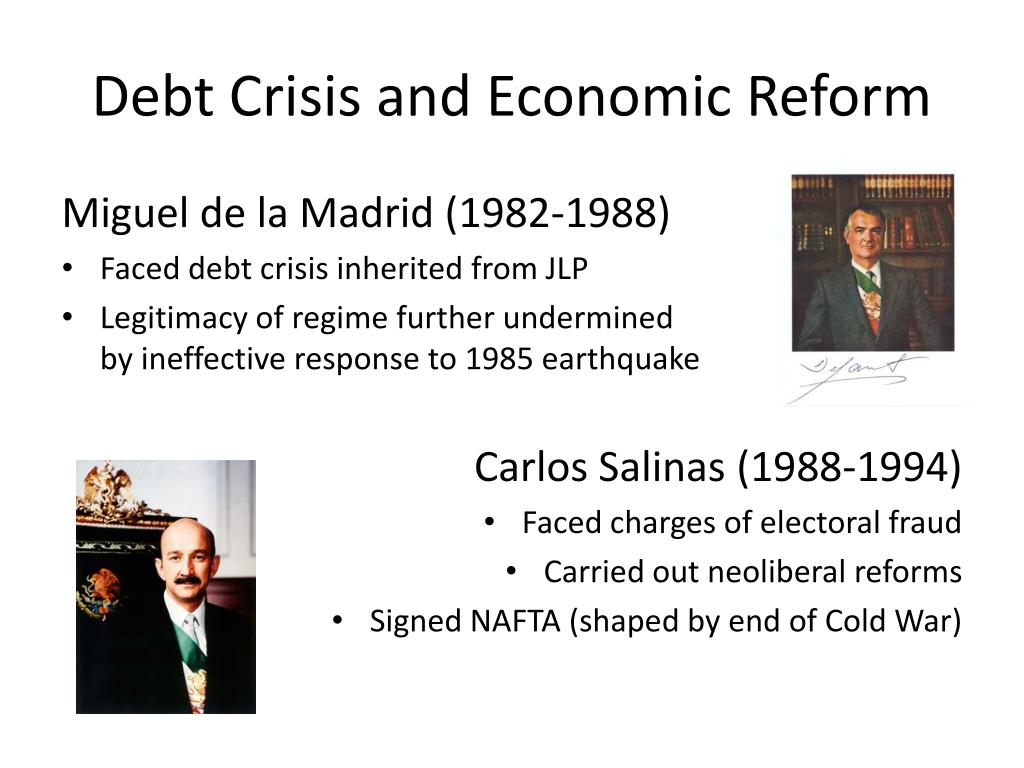 Debt Crisis and Economic Reform