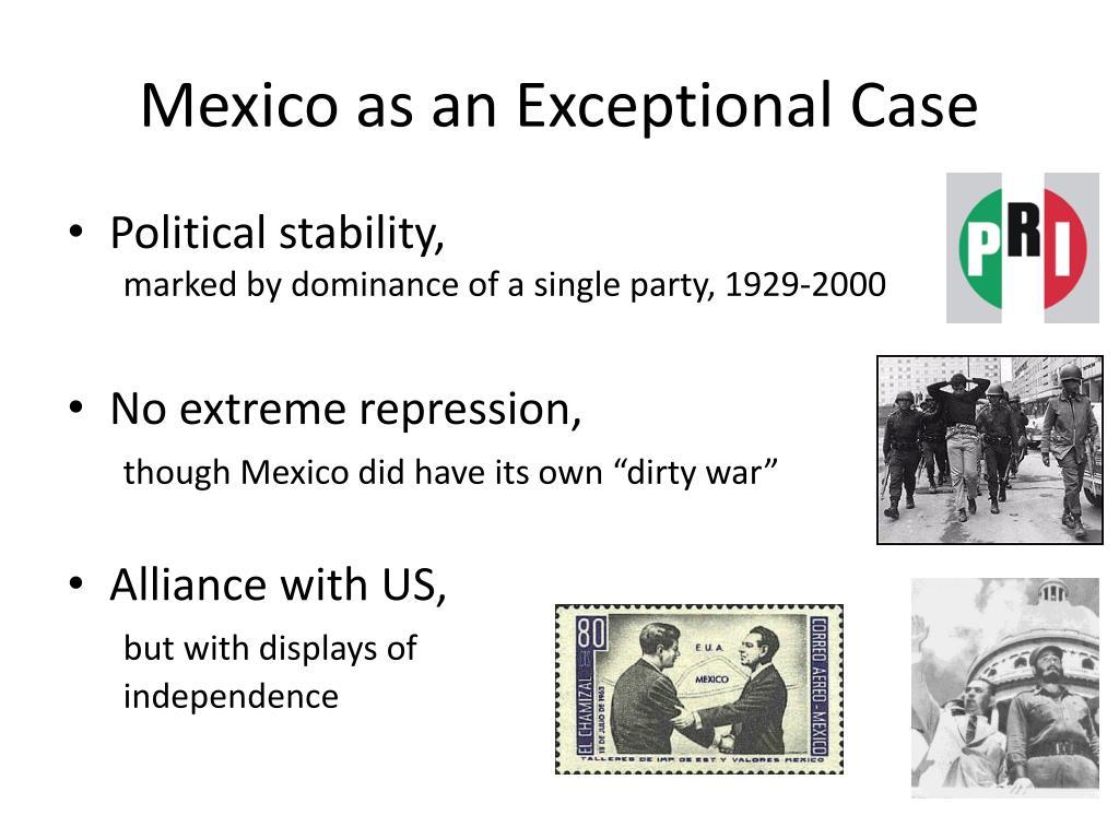 Mexico as an Exceptional Case