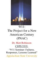 9 11 the project for a new american century pnac