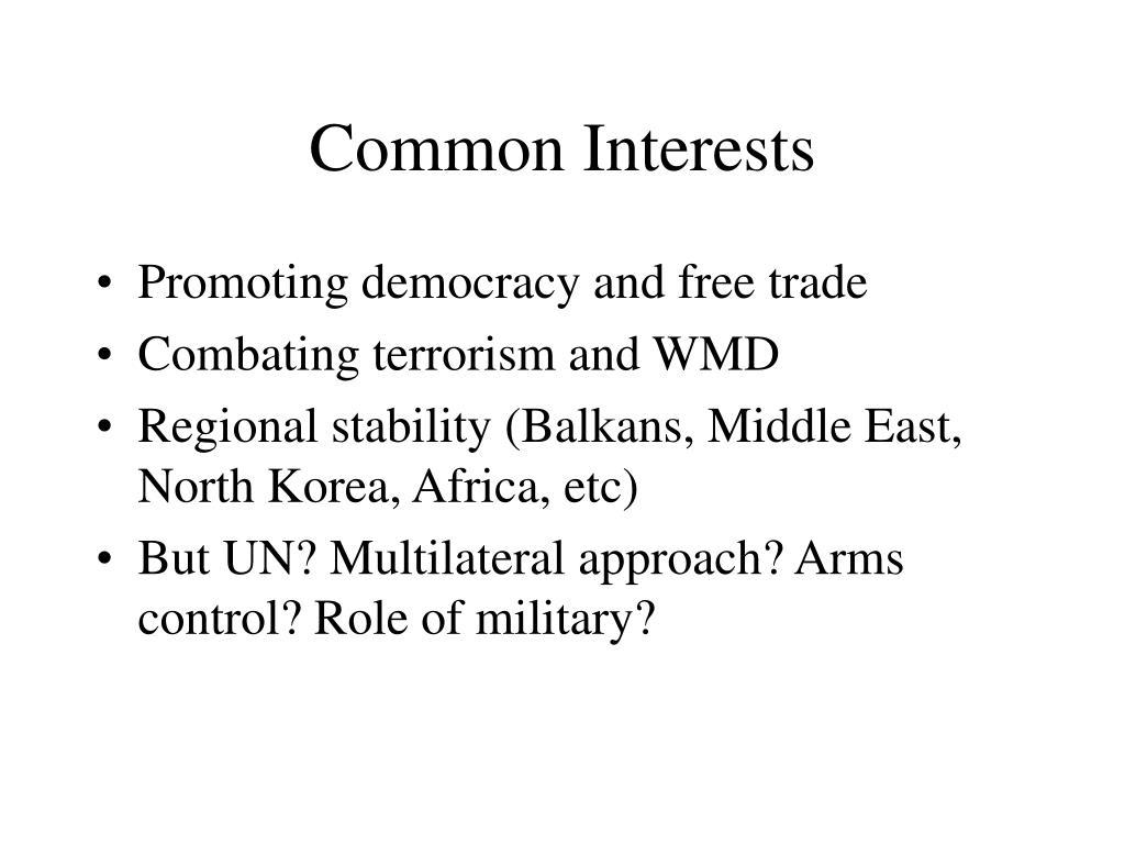 Common Interests