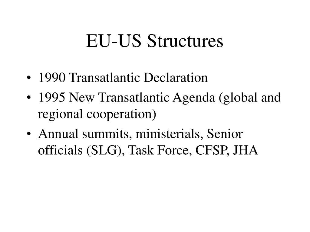 EU-US Structures
