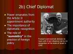 2b chief diplomat