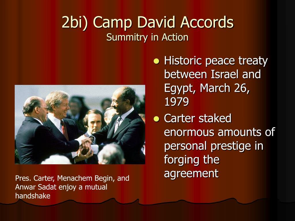 2bi) Camp David Accords