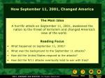 how september 11 2001 changed america
