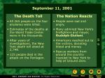 september 11 200121