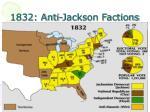 1832 anti jackson factions