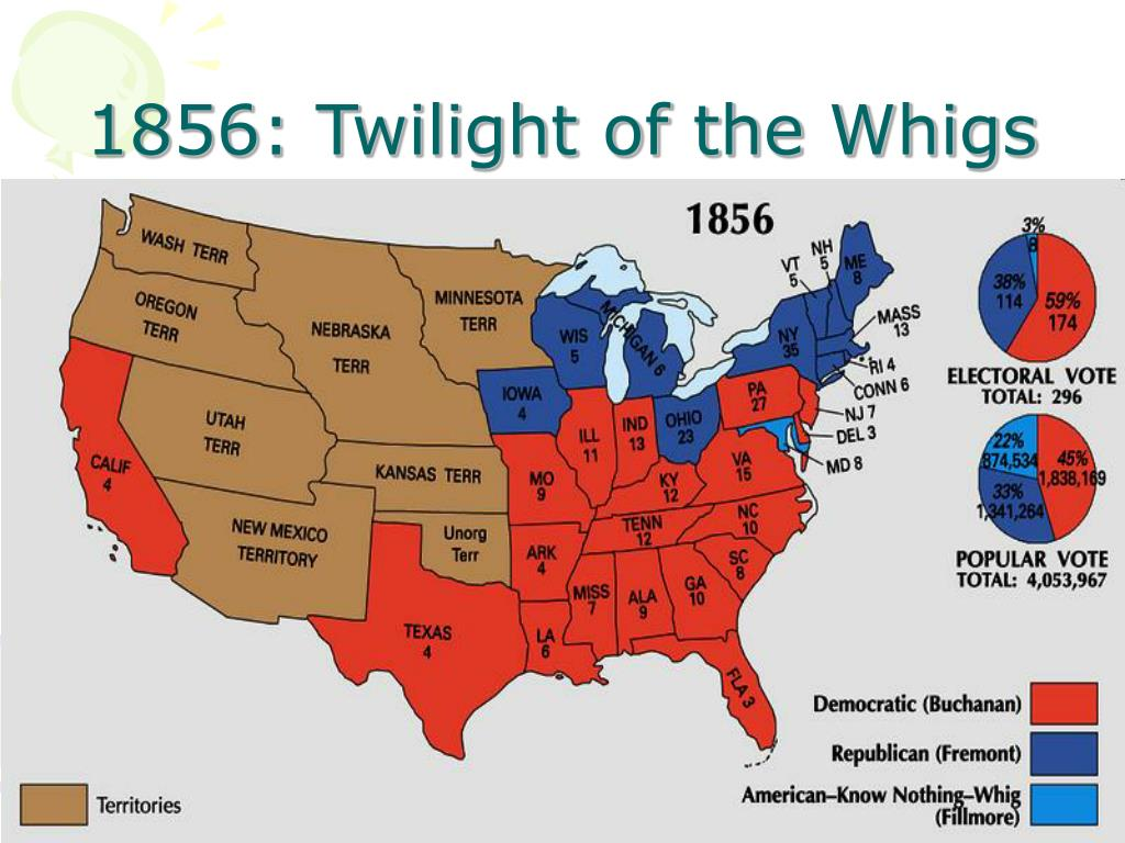 1856: Twilight of the Whigs