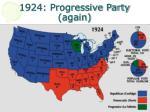 1924 progressive party again