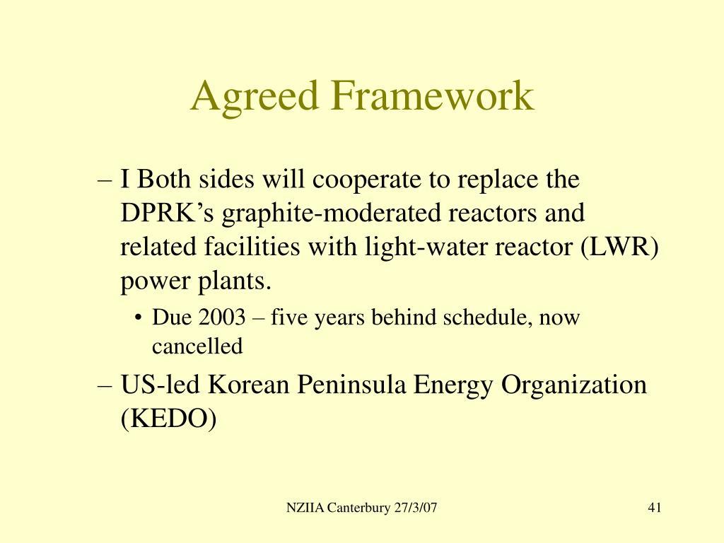 Agreed Framework