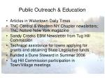 public outreach education