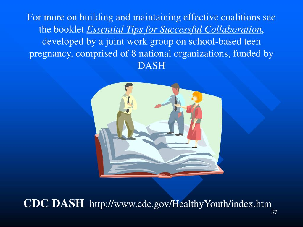 For more on building and maintaining effective coalitions see the booklet